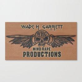Mind-Rape Productions Canvas Print