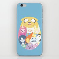 adventure iPhone & iPod Skins featuring Adventure by Eva Puyal