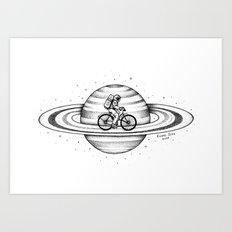 Space Ride Art Print