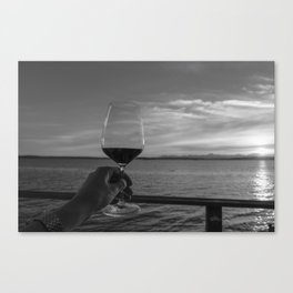 Toast to the Ocean Canvas Print