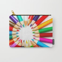 Color Pencils Carry-All Pouch
