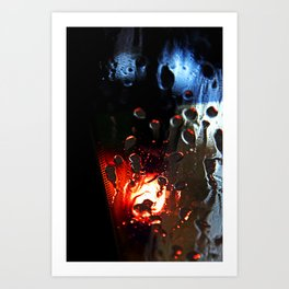 The carwash Art Print