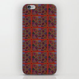Kuna Mola Pattern iPhone Skin