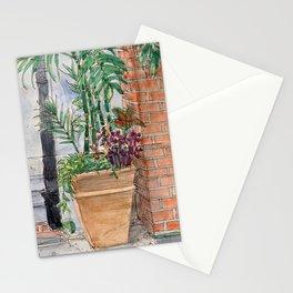 Disneyland Flowerpot in New Orleans Stationery Cards