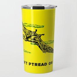 Don't Ptread on Me (don't tread on me) Travel Mug