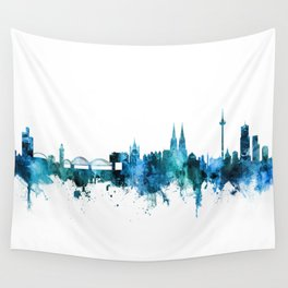 Cologne Germany Skyline Wall Tapestry