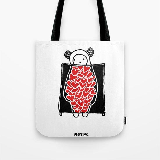 Heart Scan Tote Bag