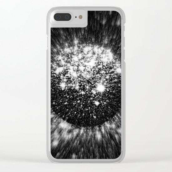 Coming To A Galaxy Near You Clear iPhone Case