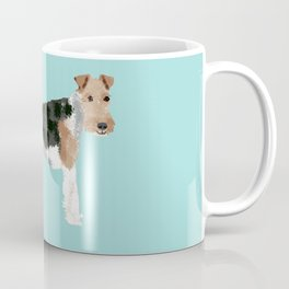 wire fox terrier funny farting dog breed pure breed pet gifts Coffee Mug