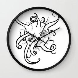 blob monster Wall Clock