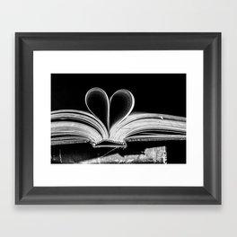 The Heart that Bends doesn't break. Framed Art Print