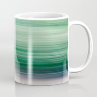 blur Mugs featuring Blur by Monika Siauw