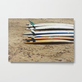 Surf Boards, Costa Rica Metal Print