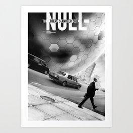 The NULL Art Print