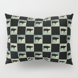 COW CHECK Pillow Sham