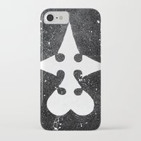 kingdom hearts iPhone & iPod Cases featuring Kingdom Hearts Nobodies Symbol by Herk Designs