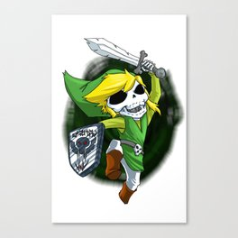 Skeleton Series Link Canvas Print