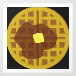 Waffle Time Art Print