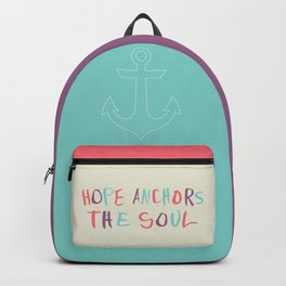 Hope Anchors the Soul Backpack