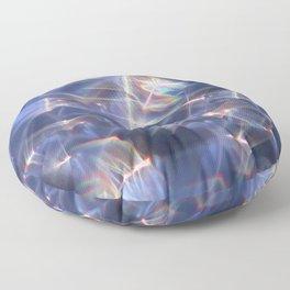Glassy Refraction 2 Floor Pillow