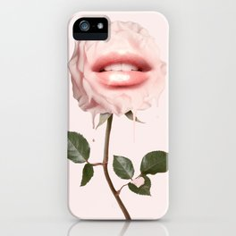GLOSSY ROSE iPhone Case