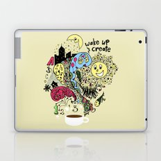 Wake Up & Create Laptop & iPad Skin