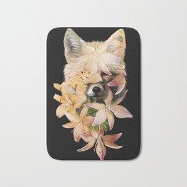 Foxy Flowers Bath Mat