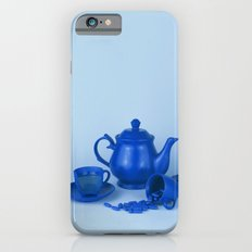 Blue tea party madness - still life Slim Case iPhone 6s