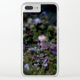 Spreading Spokes Clear iPhone Case