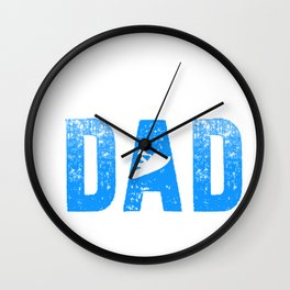 Jet Ski Dad Athletic Beach Summer Sports Wall Clock