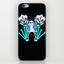 Sans the Skeleton iPhone Skin