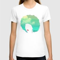 afro T-shirts featuring Afro by Studio Samantha