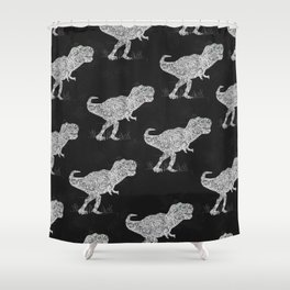 Lace Rex Shower Curtain