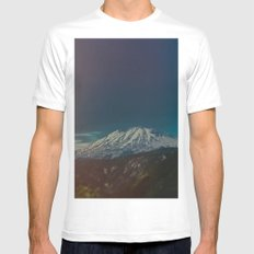 Mount Rainier Mens Fitted Tee White MEDIUM