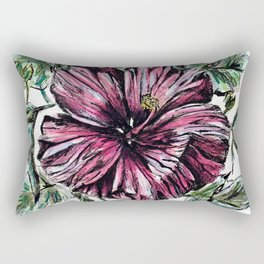 Hibiscus Rectangular Pillow
