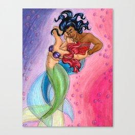 Mergirlfriends Canvas Print
