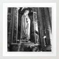 madonna Art Prints featuring Madonna by raethom