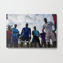 Big city ballers Metal Print