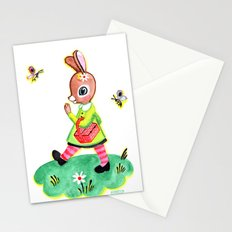 Rebecca Rabbit as Francoise's Jeanne-Marie Stationery Cards