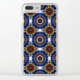 The Damascus pattern . Clear iPhone Case