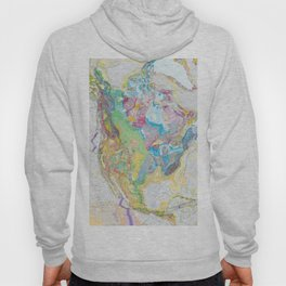 USGS Geological Map of North America Hoody