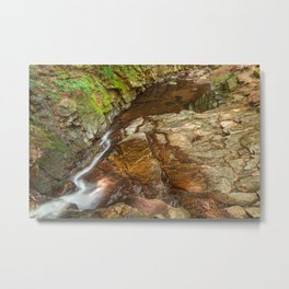 Chesterfield Gorge Stream Metal Print