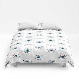 Evil Eye Pattern Comforters