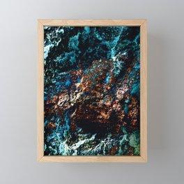 A Sudden Freeze Framed Mini Art Print