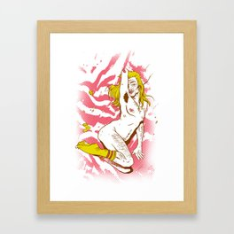 Marilyn Dirt Framed Art Print