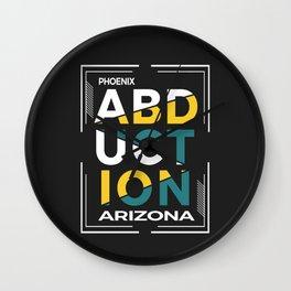 ABDUCTION | UFO Art Wall Clock