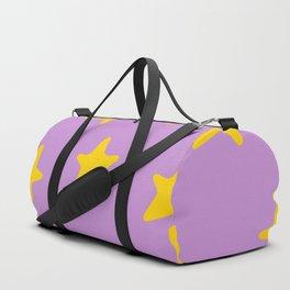 stars pattern Duffle Bag