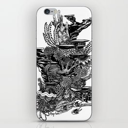 Coral Tower iPhone Skin