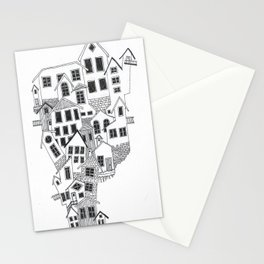 The little town Stationery Cards