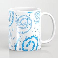 Abstract Blue Squigglisciousness Mug
